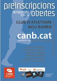 Preinscripció Club d'Atletisme Nou Barris